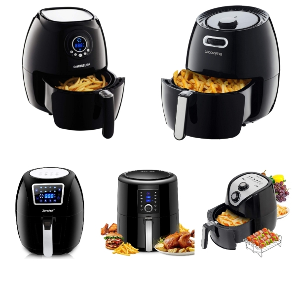 Top 5 Best Air Fryers on Amazon